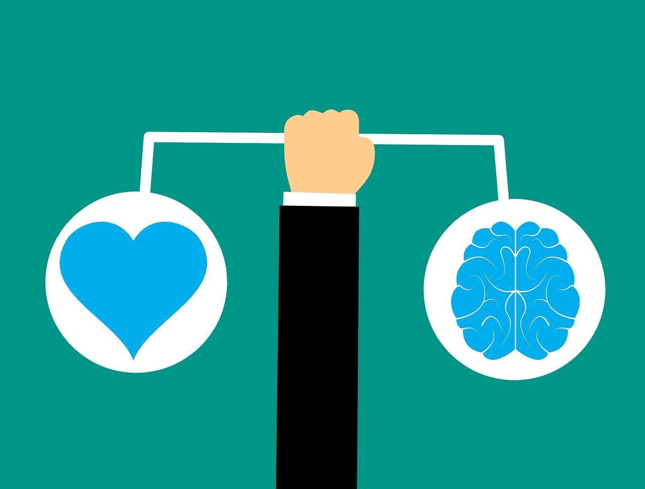 brain, heart, brain icon