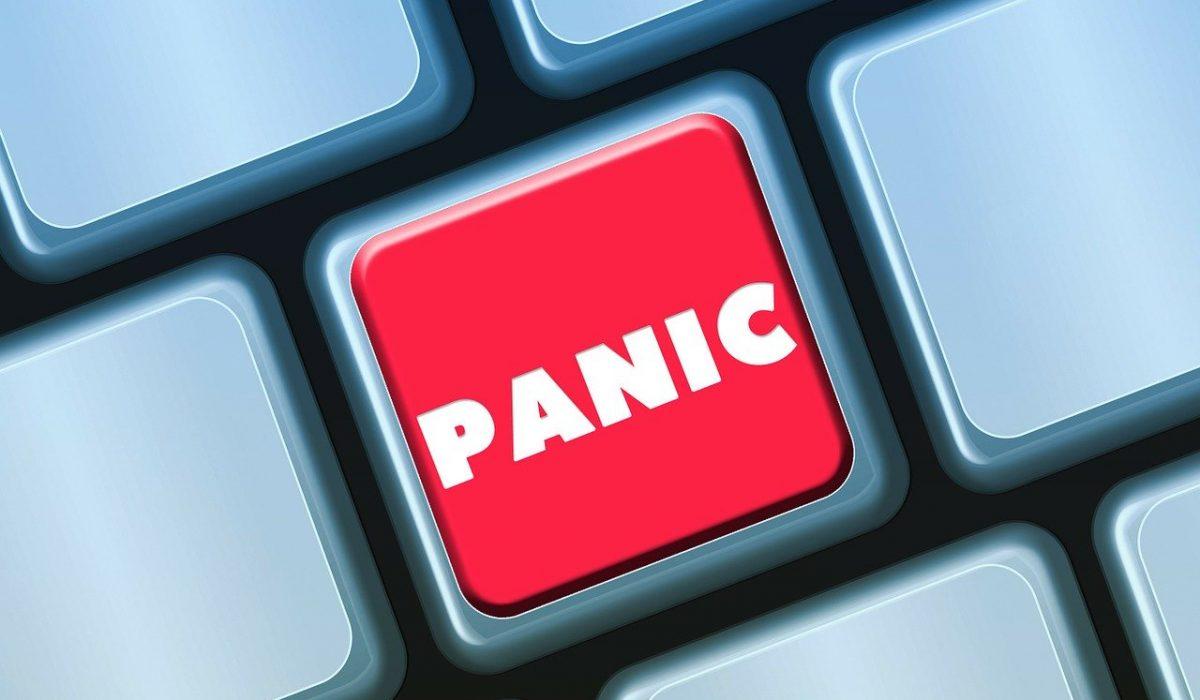 keyboard, button, panic